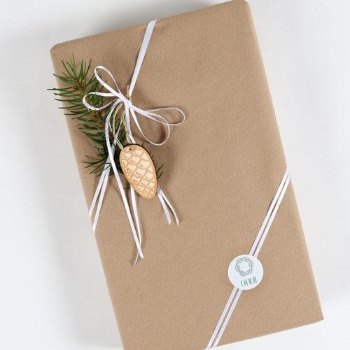Lahjakortti ja paketointi